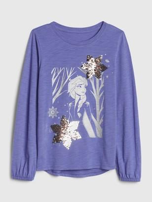 Disney GapKids   Frozen 2 Sequin T-Shirt