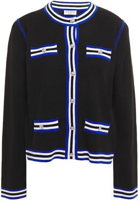Claudie Pierlot Striped Wool-blend Cardigan