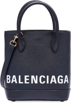 Balenciaga Ville XXS AJ Leather Crossbody Tote Bag - Golden Hardware