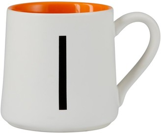 Indigo Monogram Espresso Cup I