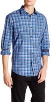 Bugatchi Plaid Long Sleeve Shaped Fit Shirt