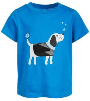 First Impressions Baby Boys Cotton Dog T-Shirt, Created for Macy's