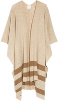 Madeleine Thompson Towton Striped Cashmere Wrap - Camel