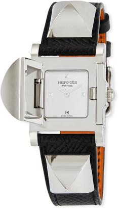 Hermes Medor Watch, 23 x 23 mm