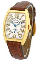 Franck Muller Cintree Curvex Sunset 18K Yellow Gold Womens Watch