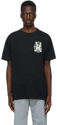 Marcelo Burlon County of Milan Black and White Monogram T-Shirt