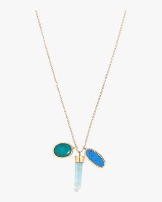 Melissa Joy Manning Opal Doublet And Gem Chrysocolla Necklace