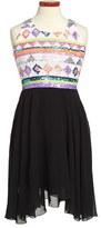 Flowers by Zoe Sequin High/Low Dress (Little Girls & Big Girls)