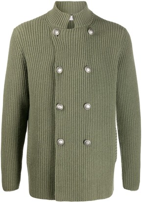 Brunello Cucinelli Double-Breasted Knitted Cardigan