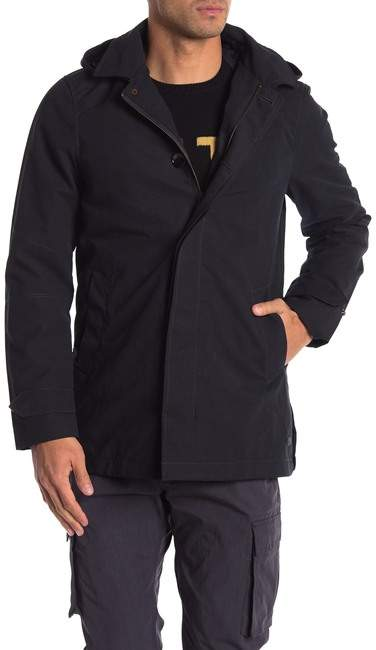 Scotch & Soda Classic Parka with Removable Hood