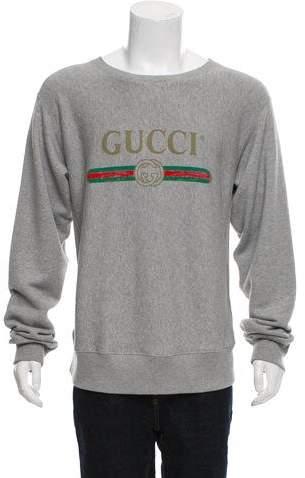 Gucci 2017 Logo Print Sweatshirt