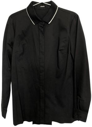 Elie Tahari Black Cotton Top for Women