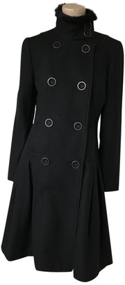 Adolfo Dominguez Black Wool Coats