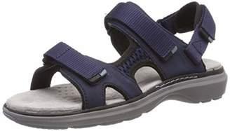 Clarks Women's Un Roam Step Sling Back Sandals, Blue (Navy