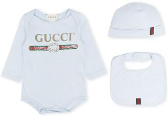 Gucci Kids Logo Print Body