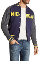 Mitchell & Ness NCAA Michigan Backward Pass Jacket