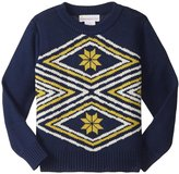 Masala Tribe Sweater (Toddler/Kid) - Navy - 3 Years