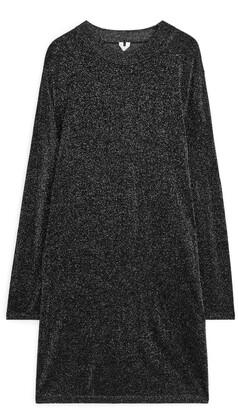 Arket Fine-Knit Glittery Dress
