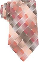 Van Heusen Shaded Geo Silk Tie - Extra Long