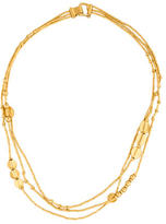 Yossi Harari Butterfly Bamboo Multistrand Necklace
