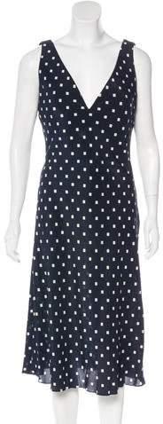 Armani Collezioni Silk Midi Dress w/ Tags