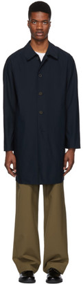 Harris Wharf London Blue Light Technical Raglan Coat