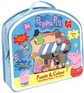 Peppa Pig Puzzle and Colour