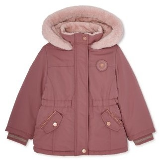 Limited Too Toddler Girl Faux Sherpa Anorak Winter Jacket Coat
