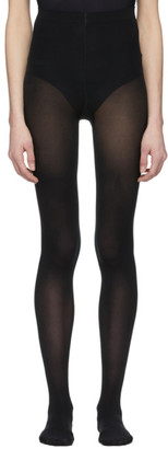 Wolford Black Velvet De Luxe 50 Tights