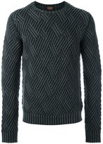 Tod's diamond knit jumper