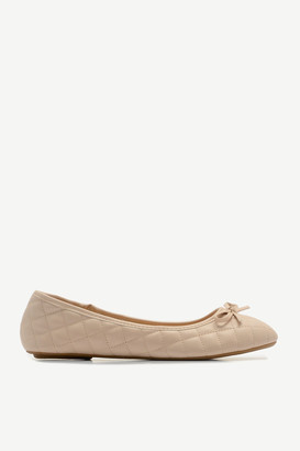 Ardene Quilted Faux Leather Flats