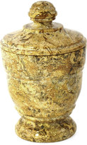 Nature Home Decor Fossil Stone Canister
