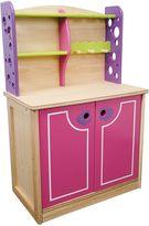 Santoys Pretty Pink Wooden Kitchen Dresser