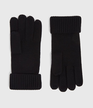 AllSaints Merino Wool Gloves