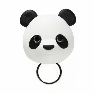 Qualy - Keys Holder Wall Mounted Panda In White
