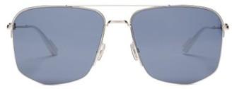 Christian Dior Sunglasses - Aviator Metal & Optyl Sunglasses - Mens - Silver