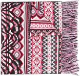 Alanui Lapponia Fair Isle knit scarf