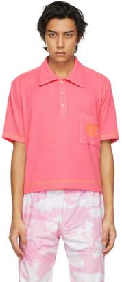 Phlemuns Pink Logo Pocket Polo