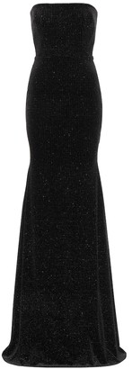 Alex Perry Ashley embellished velvet gown