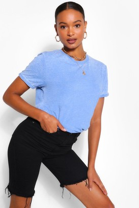 boohoo Acid Wash Burnout Tshirt