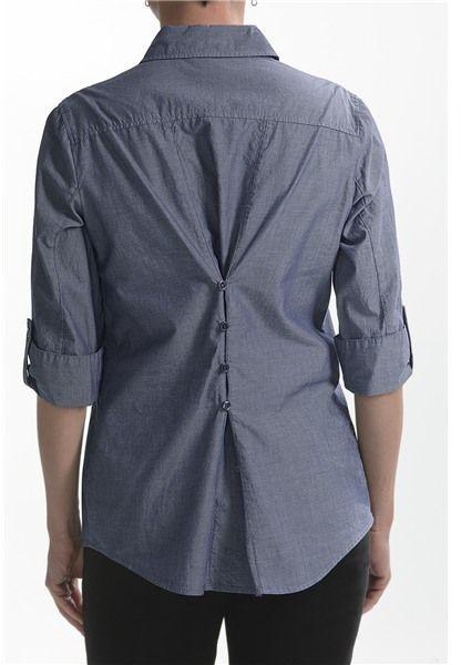 Nexx Chambray Cotton Tunic (For Women)