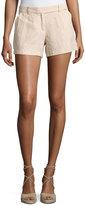 Max Studio Linen Shorts, Khaki