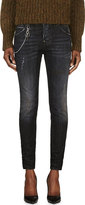 DSQUARED2 Black Washed & Distressed Cool Girl Jeans