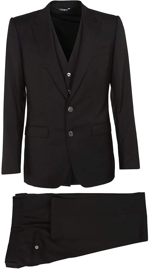 Dolce & Gabbana Dolce Gabbana Three Piece Formal Suit