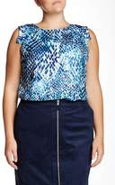 Mynt 1792 Sleeveless Blouse (Plus Size)