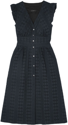 J.Crew Broderie Anglaise Cotton-poplin Dress