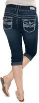 Amethyst Jeans Dark Wash Regina Capri Jeans - Plus