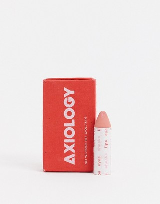 Axiology The Balmies Lip Cheek and Eye Balm Semi Matte - Clementine