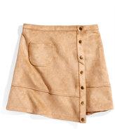 Nowadays Megan & Liz Tween Asymmetrical Suede Skirt, Big Girls (7-16) & Juniors (1-5)
