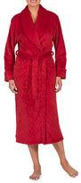 Jasmine Rose Diamond Quilted Shawl Collar Wrap Robe